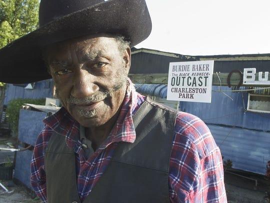 Burdie Baker, the honorary mayor of Charleston Park,