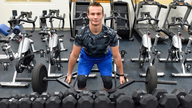 Southern Door senior Tory Jandrin set a state record in football with 461 career tackles and is setting his sights on a return trip to the WIAA state podium in wrestling.