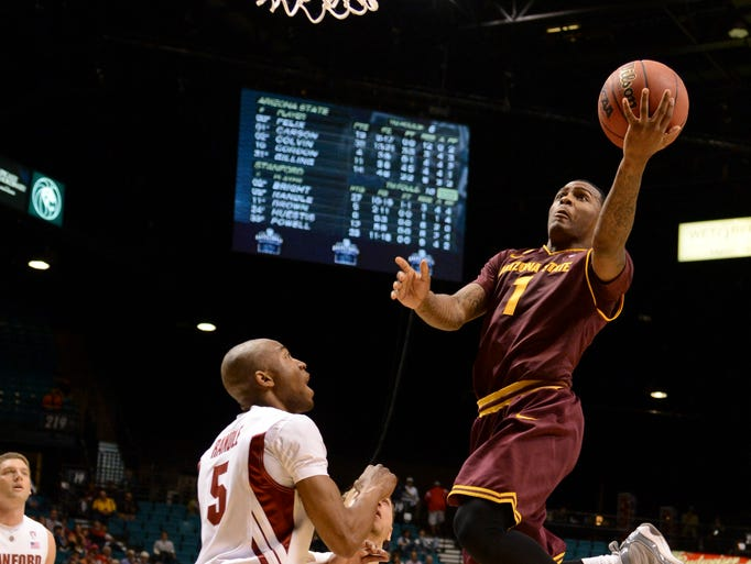 Third team: Arizona State sophomore guard Jahii Carson