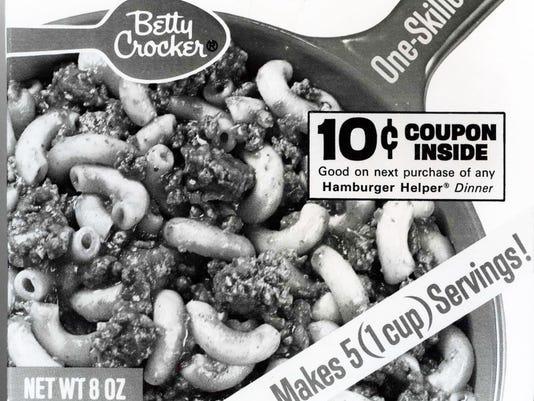 Betty Crocker one skillet meal 1970s