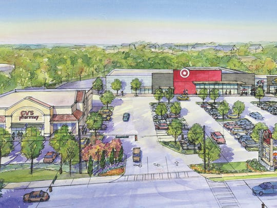 Target plans to open a small-format store in Varsity Plaza, located on High Road and Tennessee Street.