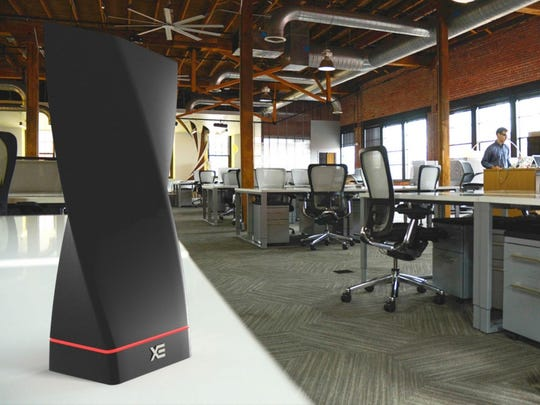 TechNovator's XE wireless charging tower sends signals