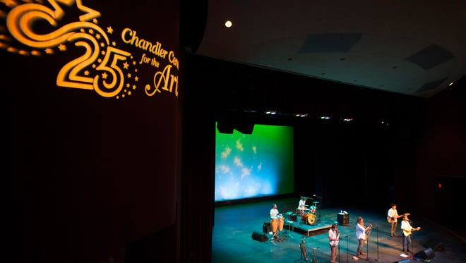 Todo Mundo helped Chandler Center for the Arts celebrate its 25th anniversary in August. The venue was a joint project of the city and the Chandler Unified School District.