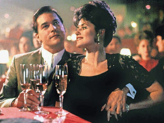 Ray Liotta and Lorraine Bracco star in the 1990 Martin
