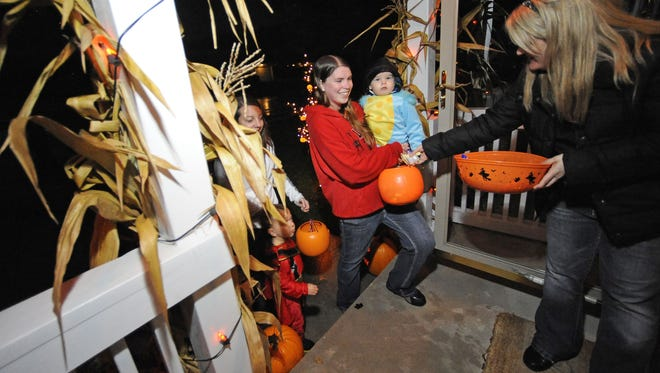 Trick-or-treat hours in Manitowoc are from 5 to 7 p.m., today.