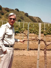 Dr. Mark Lemmon was one of the early wine pioneers