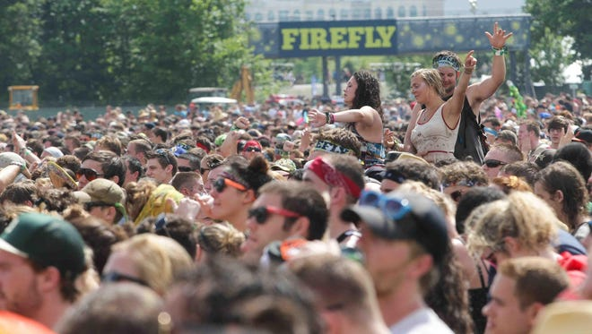 The four-day Firefly Music Festival in Dover kicks off June 16 with the first bands playing at 10 a.m.