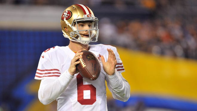 The Bengals claimed former 49ers QB Jeff Driskel at the start of the 2016 regular season, but he hasn't been able to do much in practice in Cincinnati.