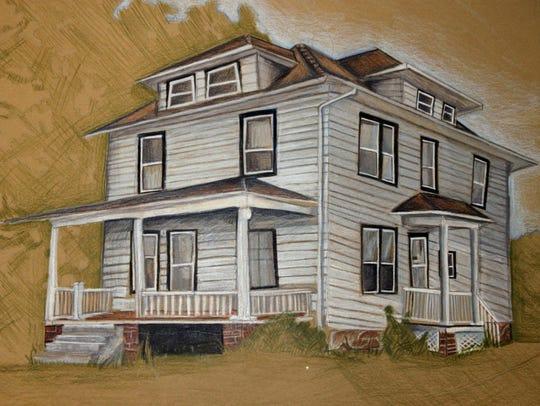 """Grandma's House"" by Kiel High School senior Grace"
