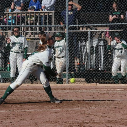 Former Laconia standout Kayla Schwebke is the leader