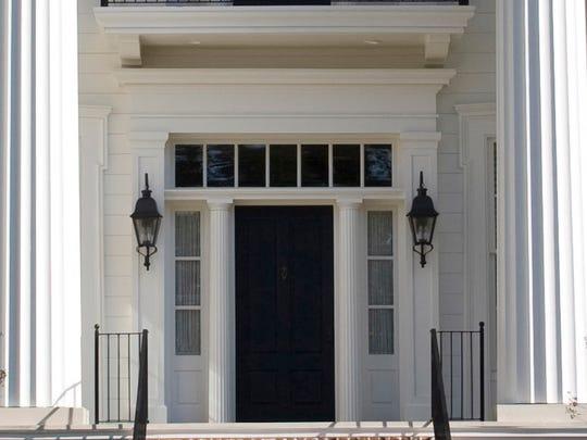 The door to FSU's president's house