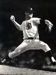 Denny McLain during his playing day with the Detroit Tigers. He won 31 games in 1968 to help propel the Tigers to the World Series.