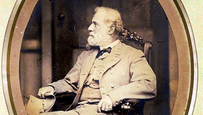 Matthew Brady photograph of Gen. Robert E. Lee in 1865.