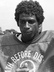 Deion Sanders, here in 1984, left Fort Myers for Florida