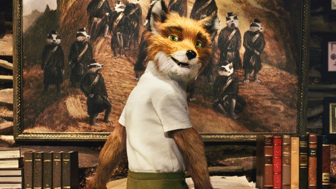 """Wes Anderson directs """"Fantastic Mr. Fox"""" (2009)."""
