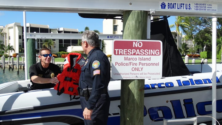 Marco police officials make final preparations to the