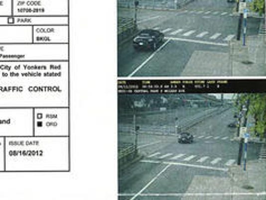 Red Light Camera Yonkers