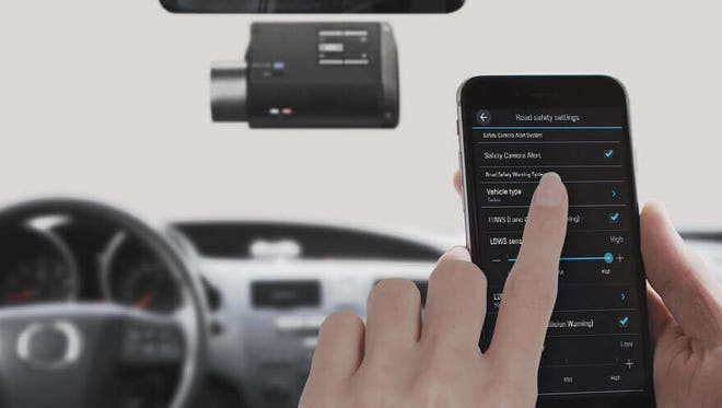 Some dashcams support remote wireless viewing via a smartphone or tablet app.