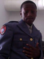 Najir in uniform.