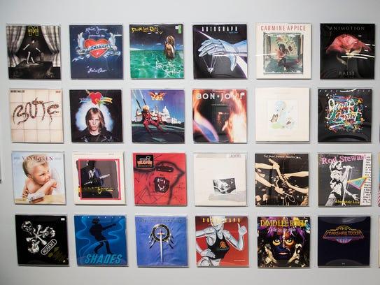 Album covers designed by Margo Nahas and Jay Vigon