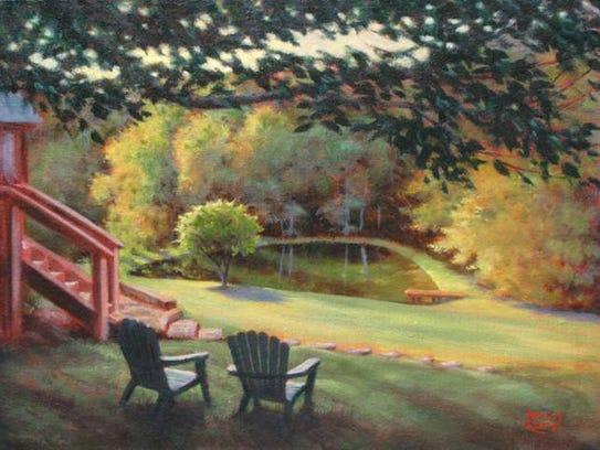 Chris's Pond by Nancy Lane.
