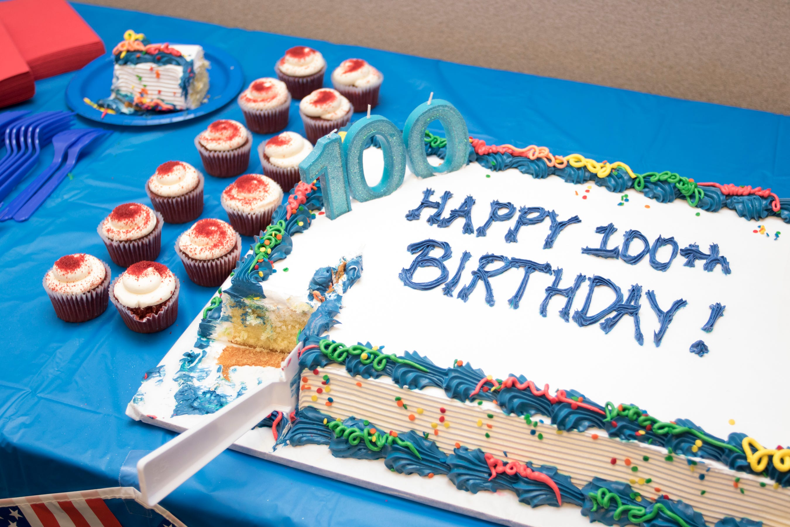 WWII veteran marks 100th birthday with Navy party