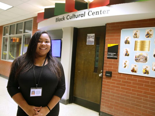 Monique Alcantar graduated from UWM in May 2017. Like many students of color who are first in their families to attend college, Alcantar needed a support network-- for academics as well as encouragement. She found that at UWM's Black Cultural Center.