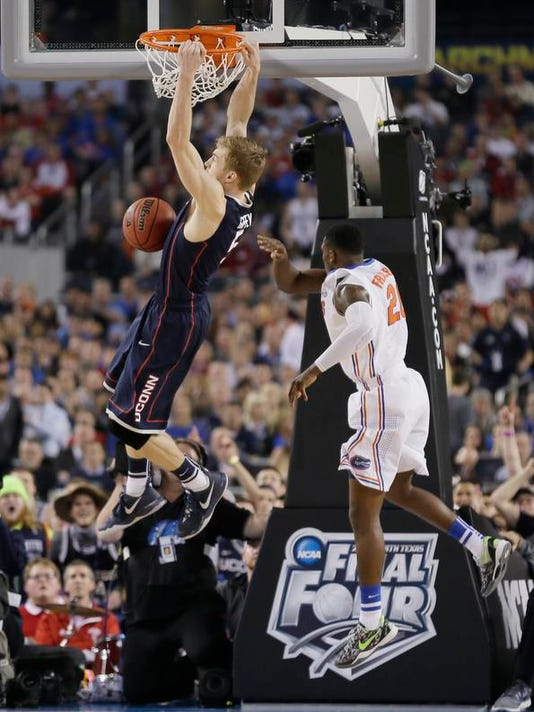 NCAA UConn Florida Final Four Basketball