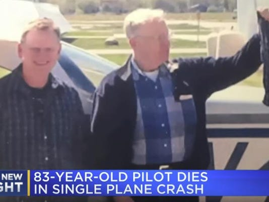 Plane crash wreck removed days later in Saginaw County