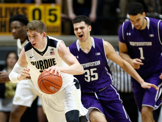 LAF Purdue men s basketball gamer Northwestern