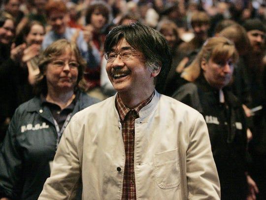 """""""Final Fantasy"""" video game franchise composer  Nobuo"""