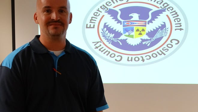 Coshocton County Emergency Management Agency Director Rob McMasters.