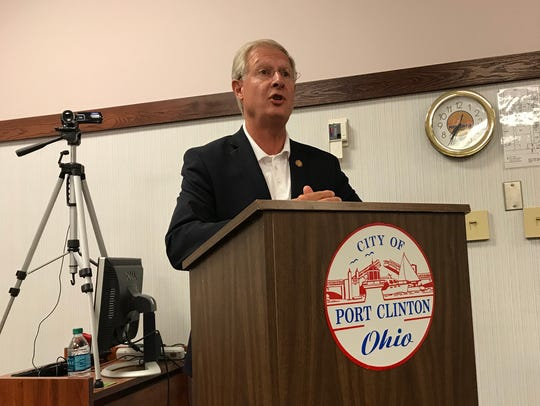 During Port Clinton City Council's meeting Tuesday,