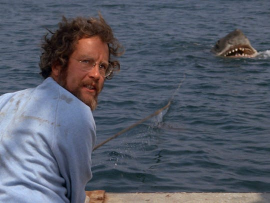 Oceanographer Matt Hooper (Richard Dreyfuss) may be