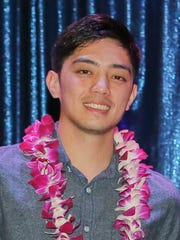 Brandon Blas was awarded the Guam Reef and Olive Spa
