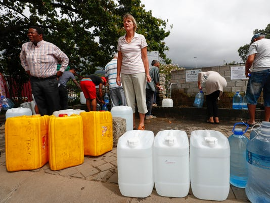 EPA (FILE) SOUTH AFRICA WATER CRISIS ENV WATER SUPPLIES DROUGHT ZAF