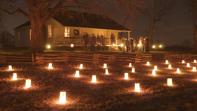 The 12th annual Memorial Luminary Driving Tour is Saturday at Wilson's Creek National Battlefield, with the opening ceremony at 4:30 p.m.