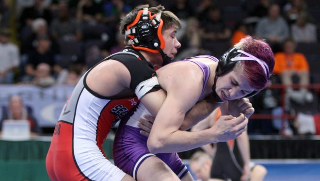 Walton/Delhi junior Caleb Robinson was a Division II state runner-up last season at 113 pounds. He's among the top returning wrestlers in Section 4 this season.
