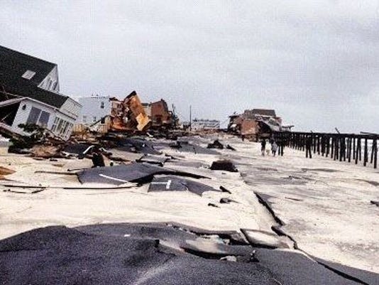Ortley Beach damage