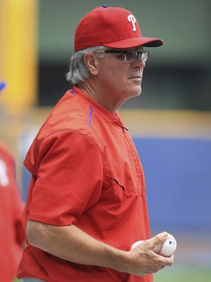 Incoming Phillies team president Andy MacPhail suggested last week that it's not a forgone conclusion that interim manager Mackanin is done after the season.
