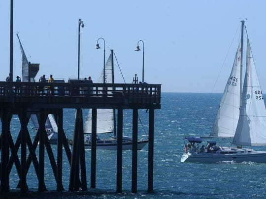 The Ventura Pier is within walking distance of downtown.