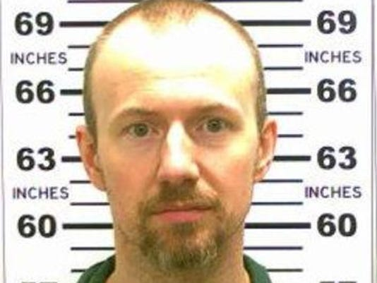 FILE: Escaped Prisoner David Sweat Captured