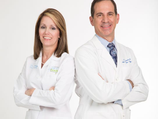 Dr. Amy Ortega and Dr. Ross Clevens