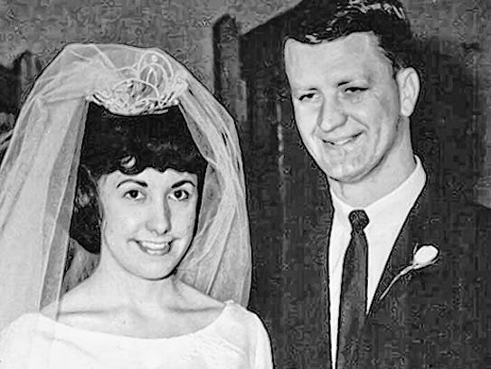 February 13, 1965, Crow Wedding.