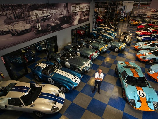 "Lance Stander heads Shelby Legendary Cars, which is licensed to make present-day versions of Carroll Shelby's historic race cars like the Cobras, Daytona Coupes and GT40s. These are ""continuation cars,"" real Shelbys, built exactly as intended, with official chassis numbers, just like the originals, Stander says."