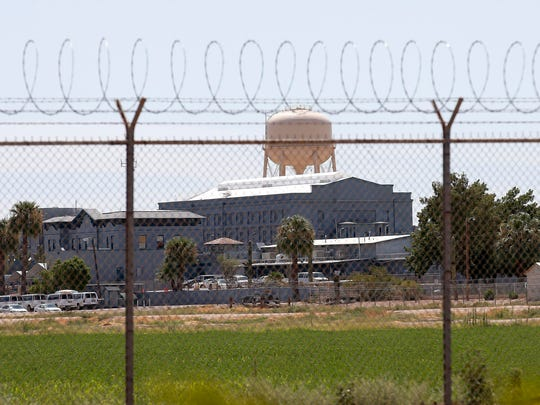 A state prison in Florence, Ariz. State Rep. Diego Rodriguez, D-Phoenix, has proposed ending Arizona's practice of hiring private companies to provide health care for its 34,000 prison inmates and instead turn that duty back over to the state.
