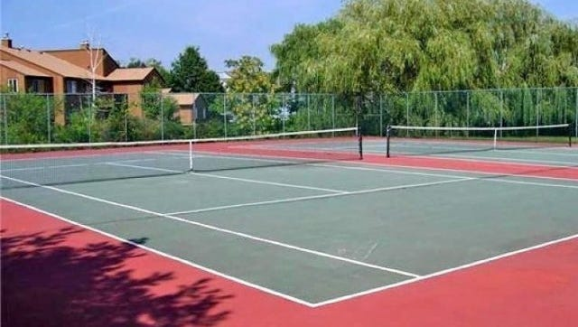 Drakesville in the Ledgewood section of Roxbury has tennis courts for its residents.