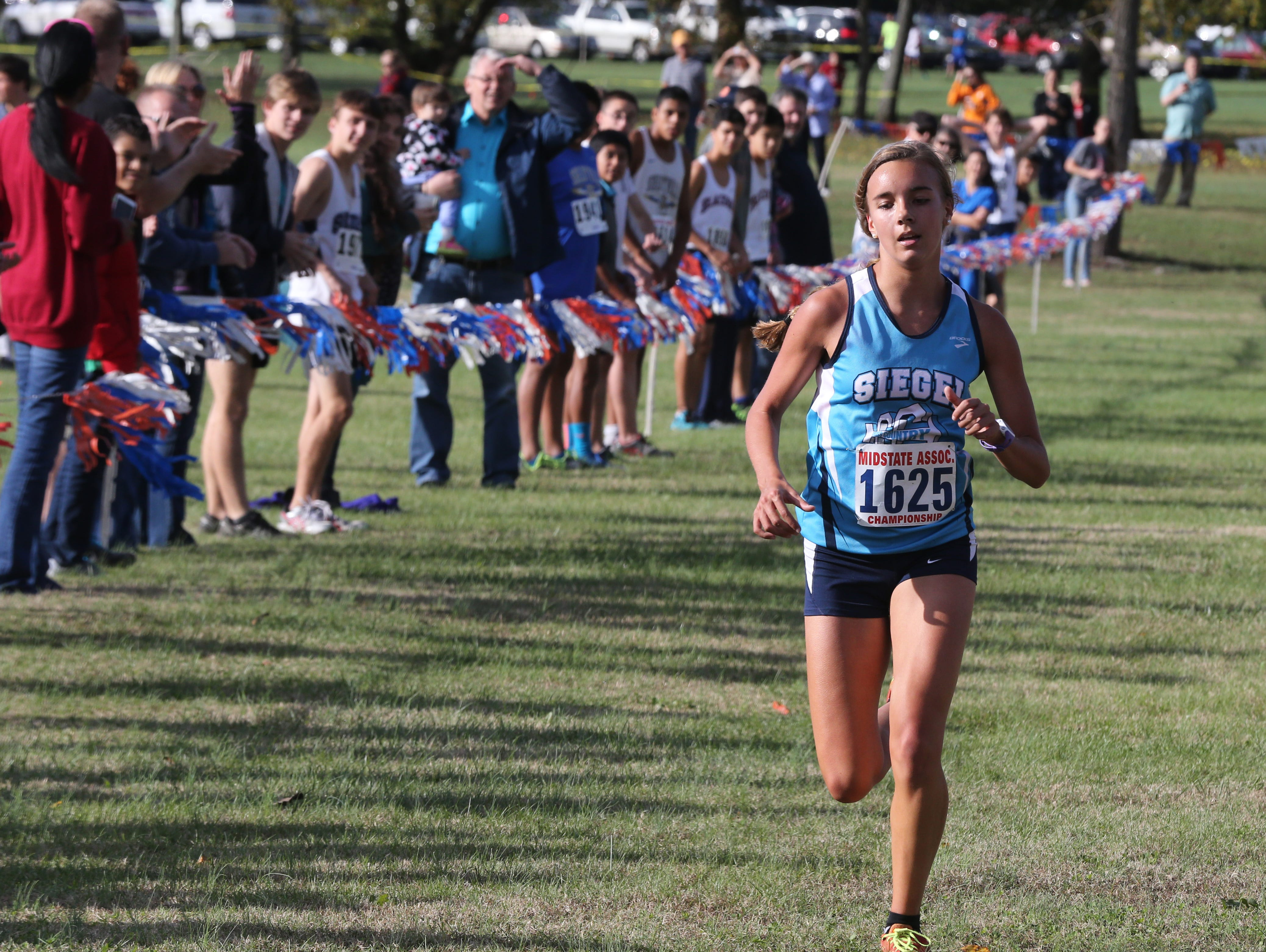 Siegel senior Victoria Simmons placed second at Saturday's Tennessee Classic.