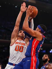 Knicks center Enes Kanter is working on his chemistry
