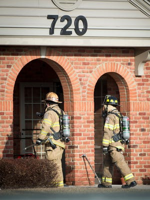 Explosive levels of gas were found in a building at 720 Norman after what appears to have been a cut gas line. Cornwall Road was closed and approximately 150 people were evacuated from other buildings.